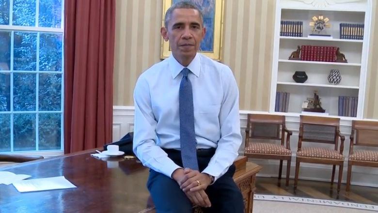 Obama Interrupts Latin Grammys 2014, Latin Grammy Awards 2014, Latin Grammys 2014, President Obama Speech Interrupted Latin Grammys