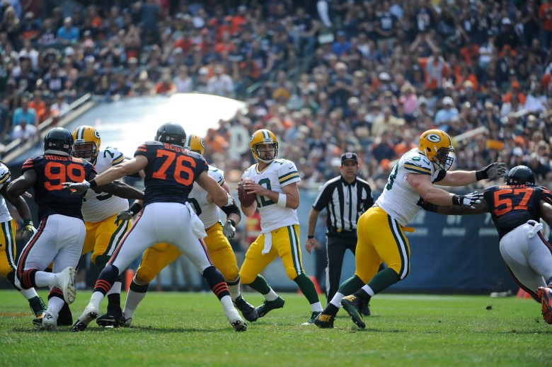 Aaron Rodgers, Bears vs. Packers