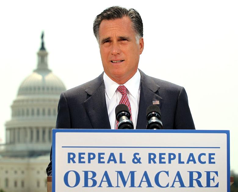 Romney, Obamacare