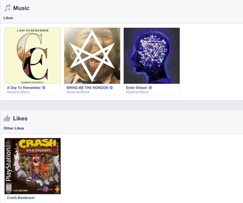 Will Cornick Facebook Likes