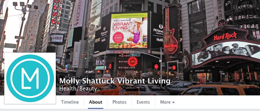 Vibrant Living Facebook