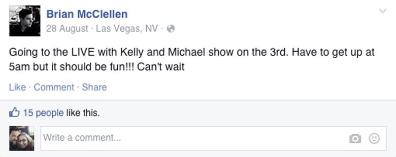 Brian McClellen Las Vegas