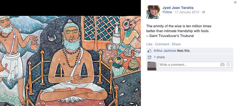 Joan Tarshis Facebook Tantric Sex