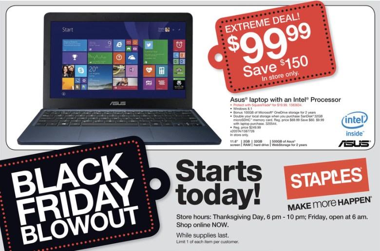 cheap laptop black friday