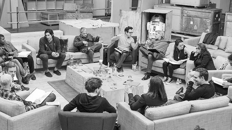 Lucasfilm Twitter Cast Picture