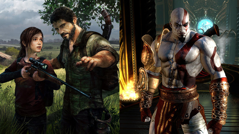 the last of us, god of war 3, playstation 3, ps3
