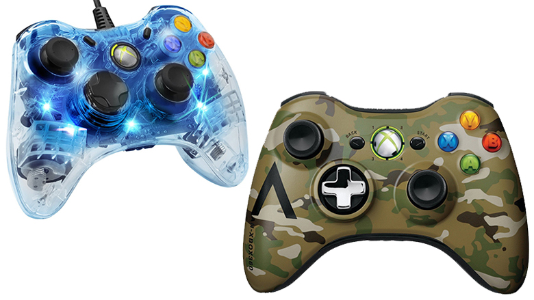 xbox 360 controller, afterglow, microsoft