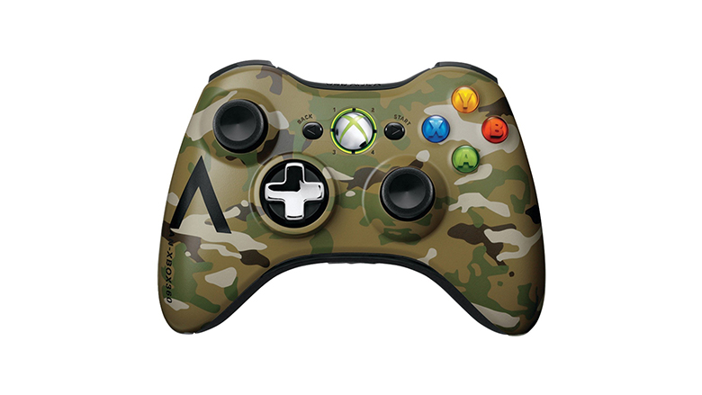 Xbox 360 Wireless Camouflage Controller