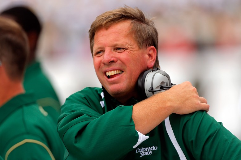Jim McElwain got a 6-year contract to become Florida's next head coach. (Getty)