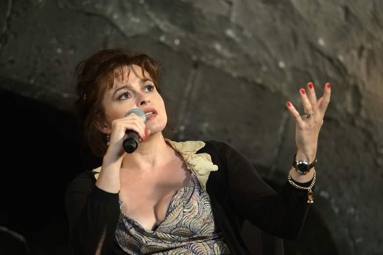 Helena Bonham Carter Answer Questions At Theme Park Event