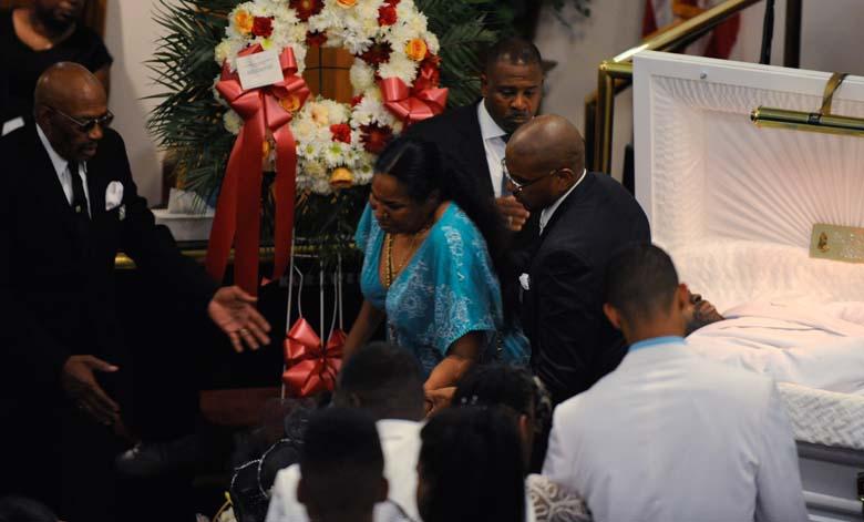 Esaw Garner Eric Garner Funeral
