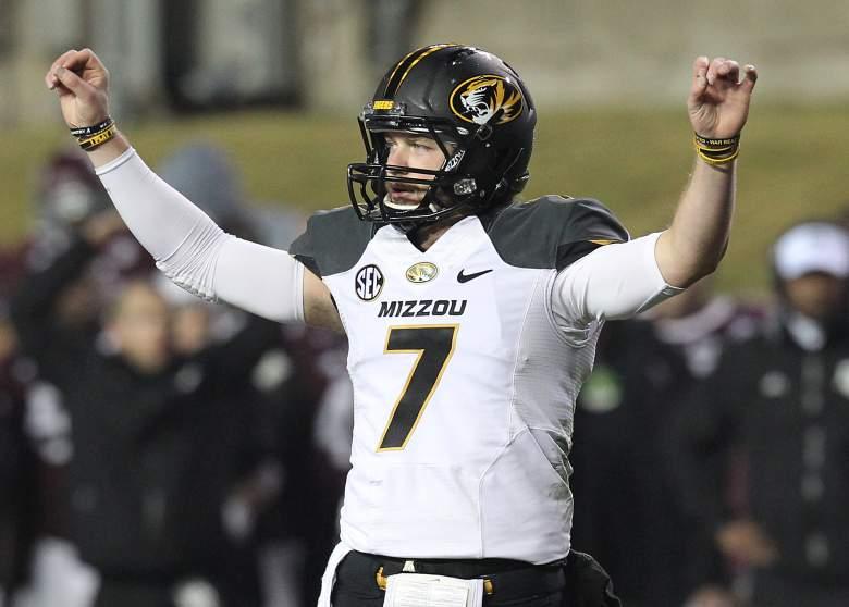 Missouri quarterback Maty Mauk. (Getty)