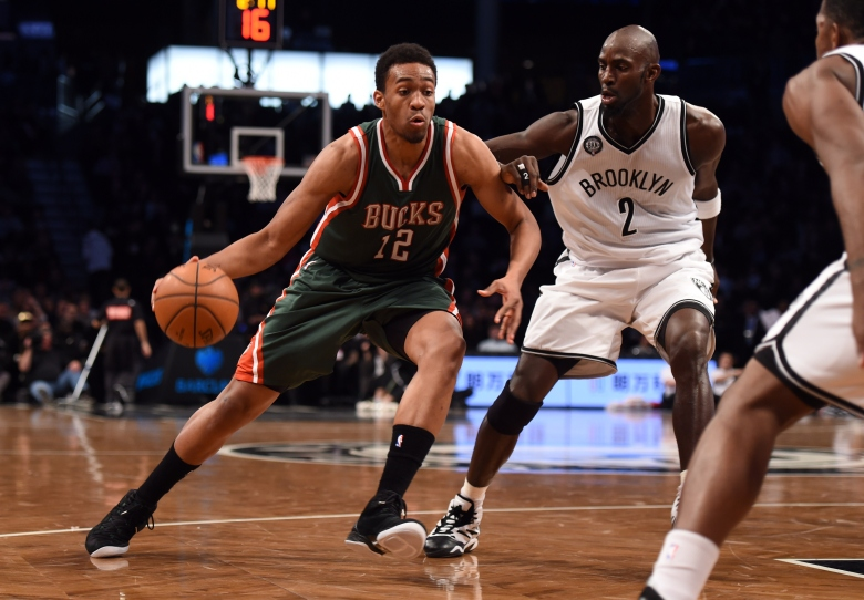 Milwaukee Bucks rookie Jabari Parker is out for the season with an ACL tear in his left knee. (Getty)