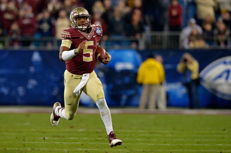 Jameis Winston is undefeated in his Florida State career. (Getty)