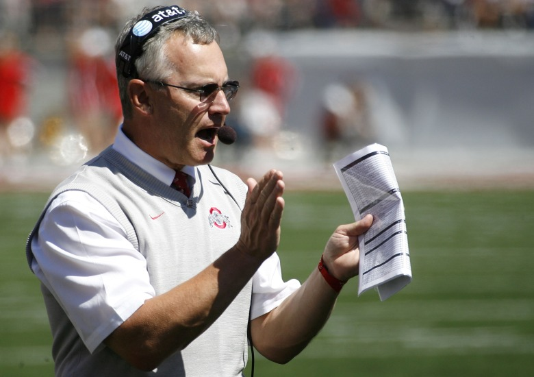Youngstown State president Jim Tressel was once the head coach at Ohio State. (Getty)