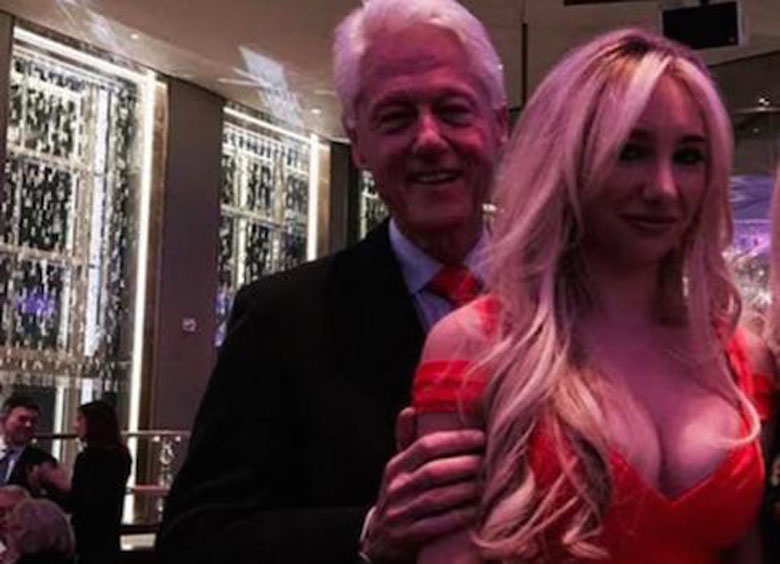 Bill Clinton and Andrea Catsimatidis