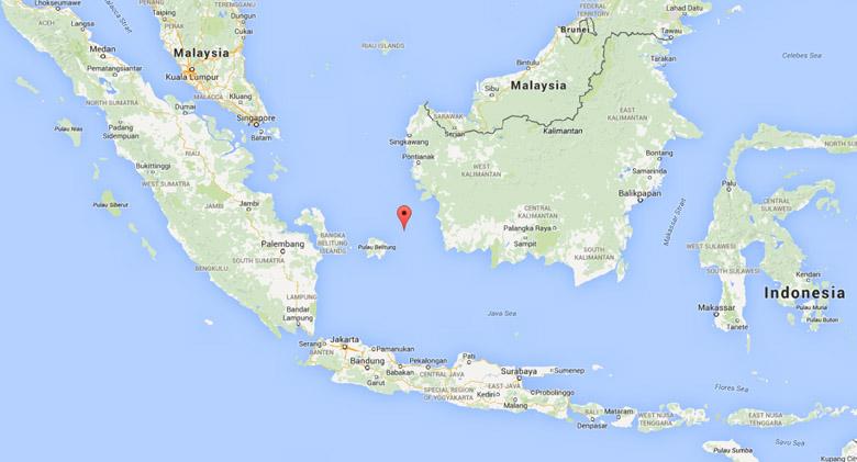 karimata strait, missing airasia flight found