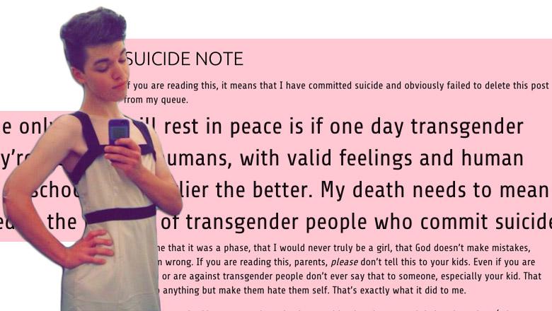 leelah alcorn, joshua alcorn, transgender teen suicide, leelah alcorn parents