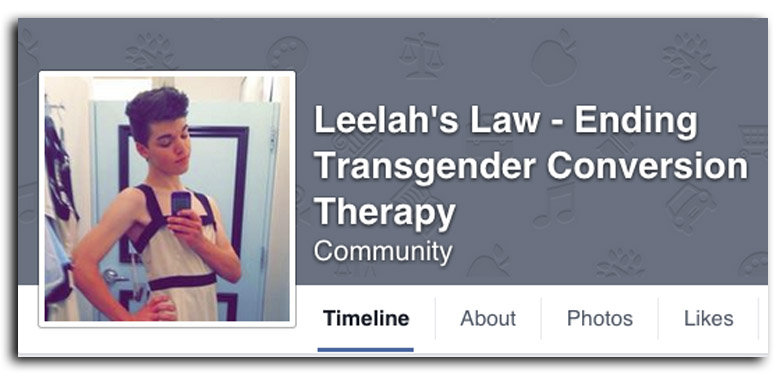 leelah alcorn, leelahs law, transgender conversion therapy