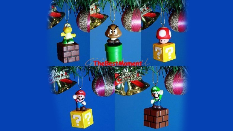 mario Christmas ornament