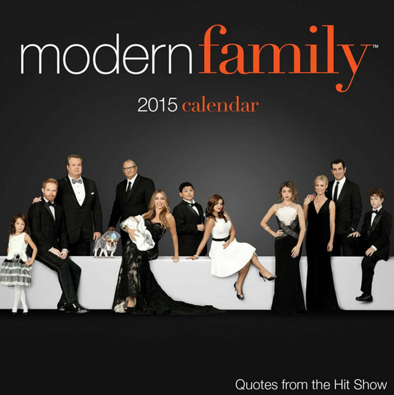 modern family gifts, christmas presents, tv christmas presents