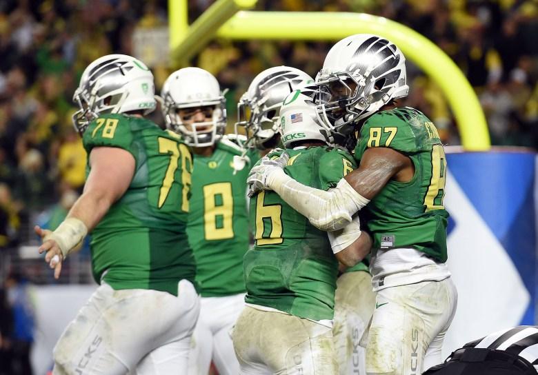 Oregon vs. Arizona, Darren Carrington