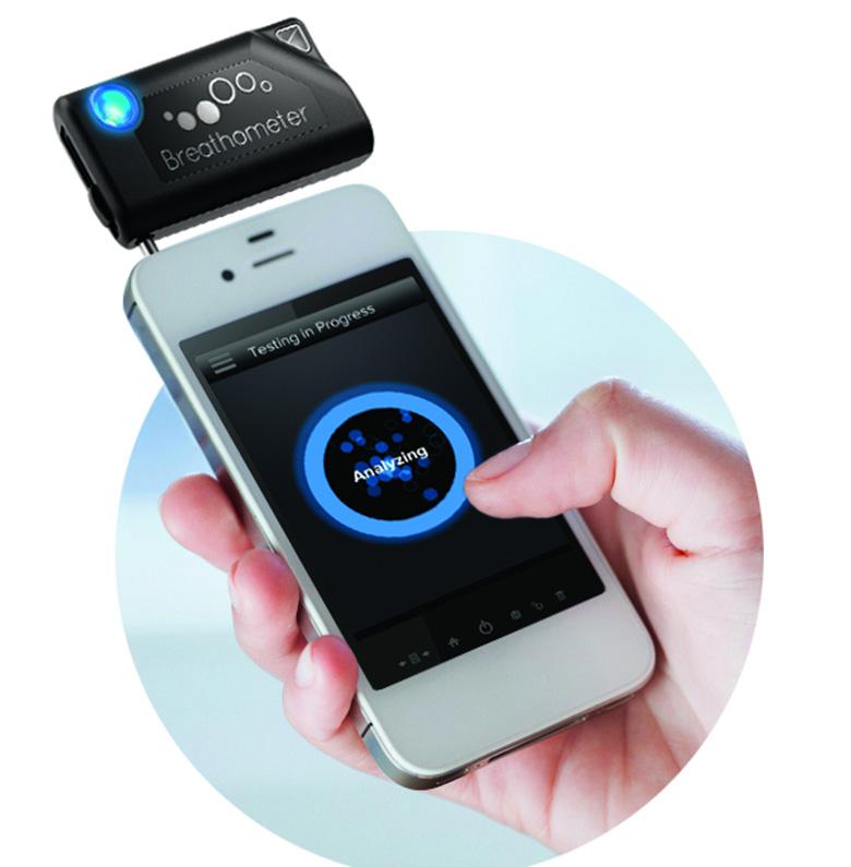 iphone breathalyzer, breathalyzer for smart phone