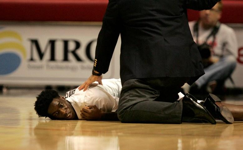 Dwayne Polee collapses, Dwayne Polee seizure