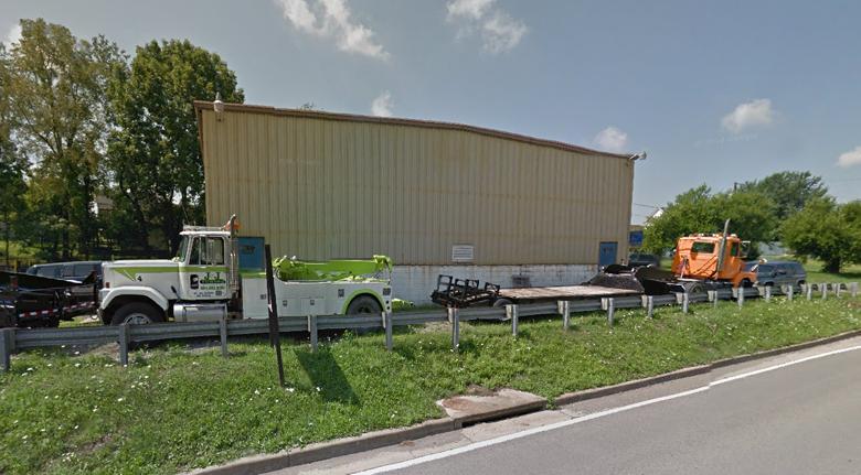 J&J Towing shown here in Morgantown, West Virginia.
