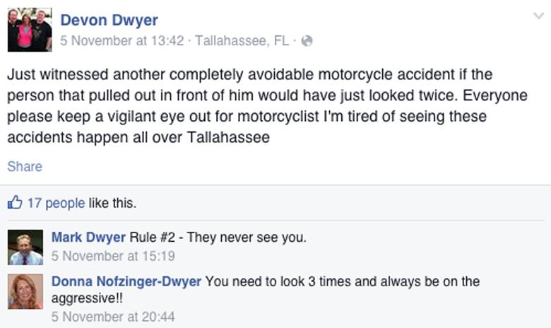 Devon Dwyer Facebook