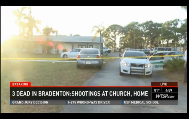 Bradenton where three people were found dead