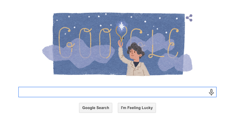 Annie Jump Cannon Google Doodle