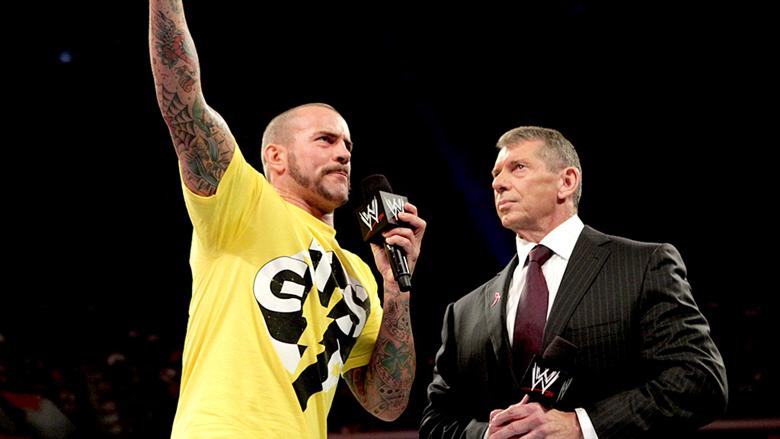 Vince McMahon CM Punk