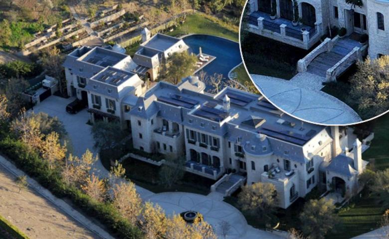 Tom Brady and Gisele Bundchen's Los Angeles mansion. (New York Daily News)