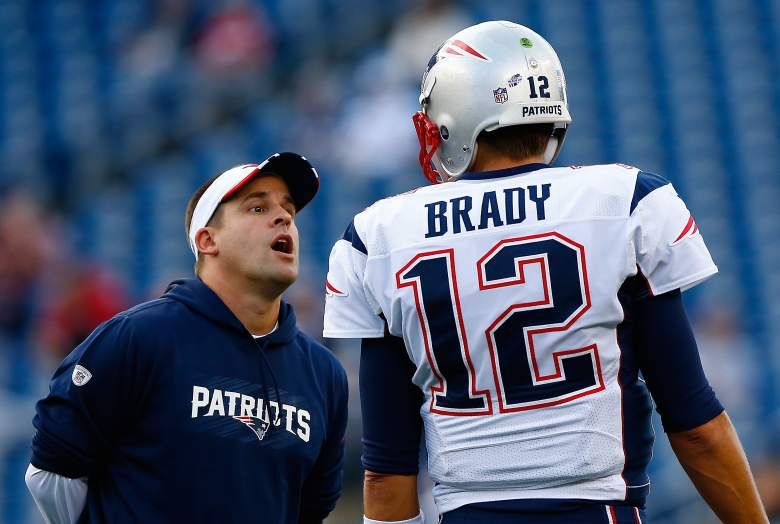 Josh McDaniels is in his 11th season with the Patriots. (Getty)