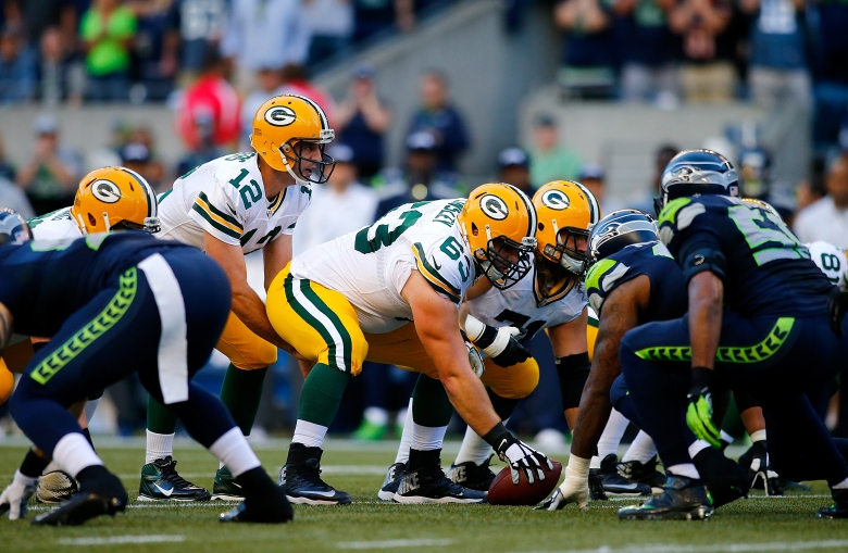 With a spot in the Super Bowl on the line, the Packers travel to Seattle to meet the Seahawks. (Getty)