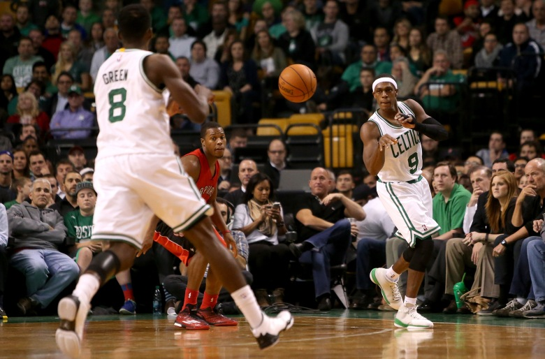 Jeff Green and Rajon Rondo