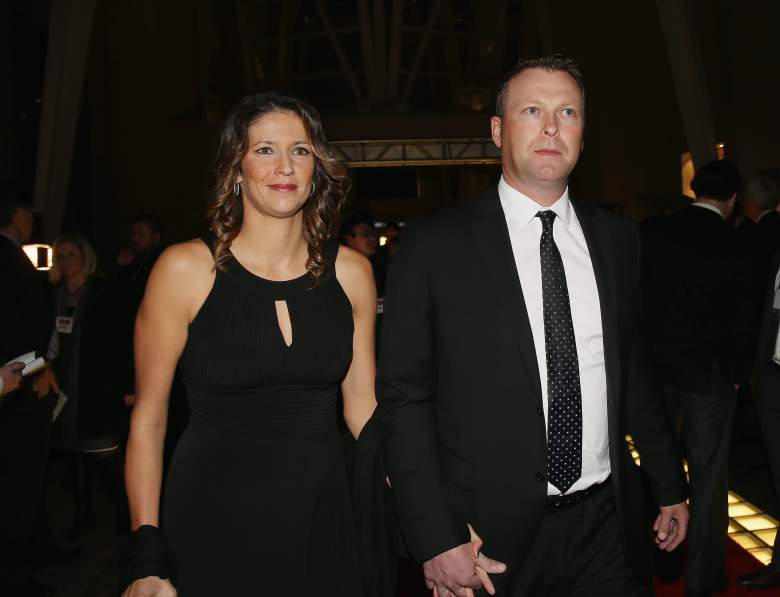 Martin Brodeur and Genevieve Nault have been married since 2008. (Getty)