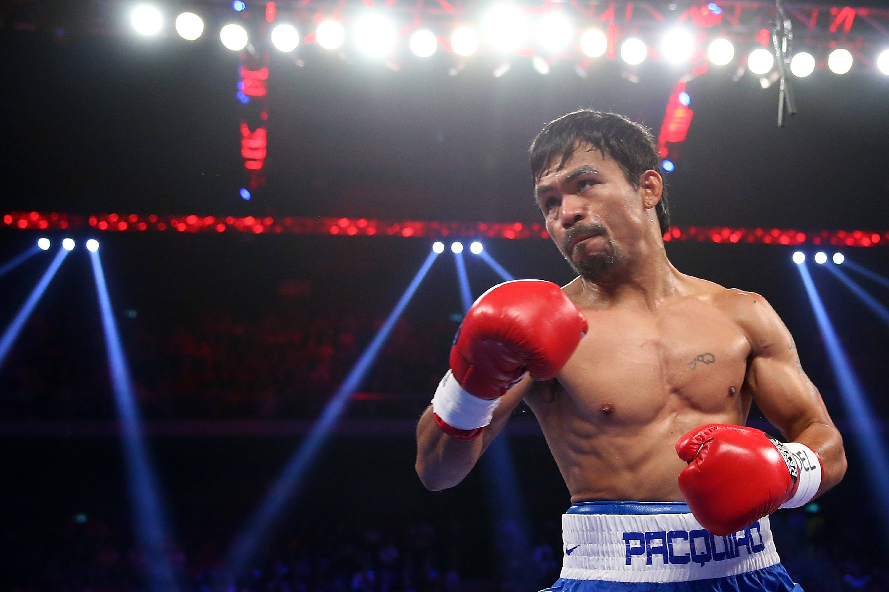 Manny Pacquiao (Photo by Chris Hyde/Getty Images)