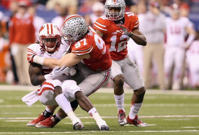 Ohio State meets Alabama at 8:30 p.m. Eastern on ESPN. (Getty)