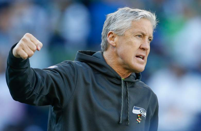 Pete Carroll is signed through 2016. (Getty)