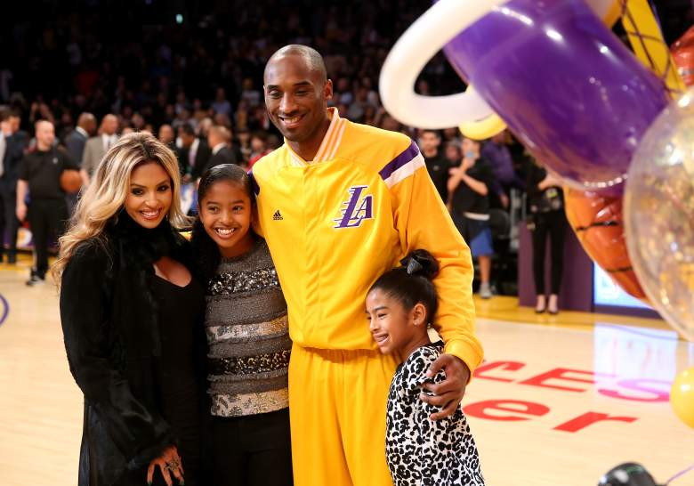Kobe and Vanessa with daughters Natalia and Gianna (Getty)