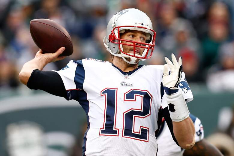 Tom Brady's Patriots are slight favorites over the Seahawks in the Super Bowl. (Getty)