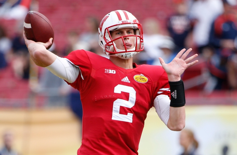 Wisconsin quarterback Joel Stave. (Getty)