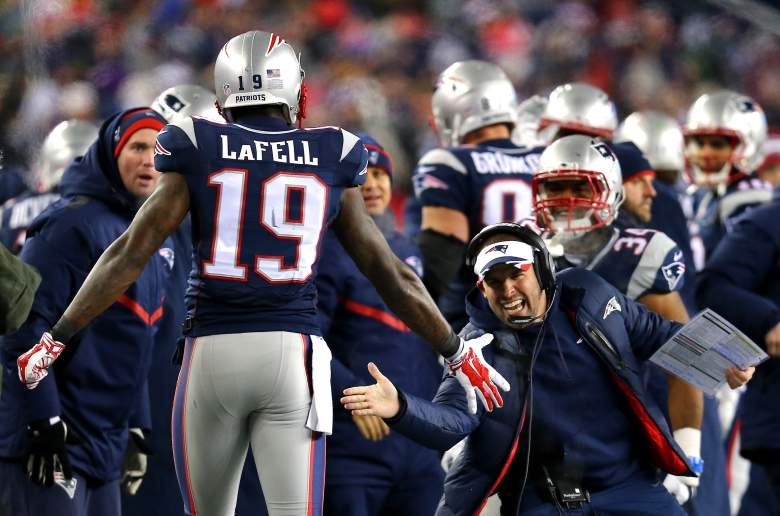 Brandon LaFell has quickly become a strong presence on the outside for the Patriots. (Getty)