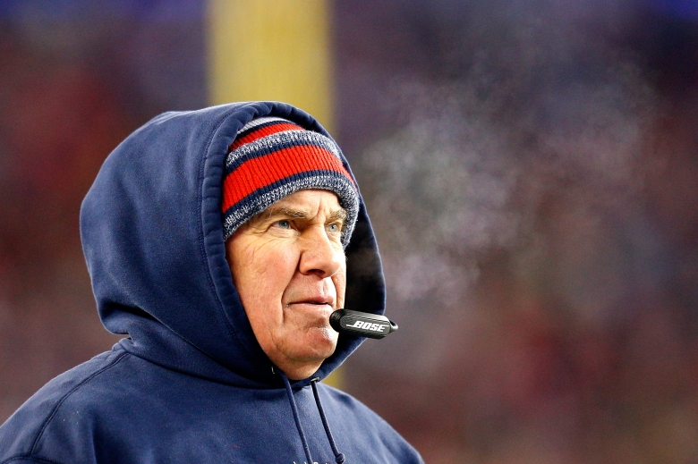 Bill Belichick has coached the New England Patriots to 3 Super Bowl titles. (Getty)