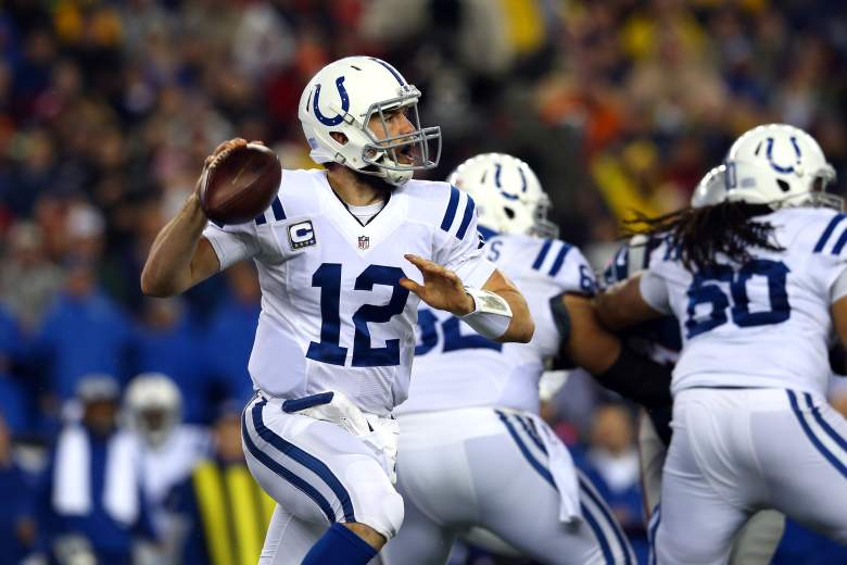 Andrew Luck is making his 3rd Pro Bowl appearance in 3 seasons. (Getty)