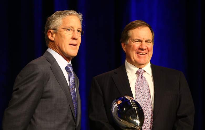 Pete Carroll and Bill Belichick are both in their 60s and at the top of their games. (Getty)