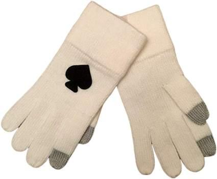 Kate Spade Tech Friendly Knit Gloves