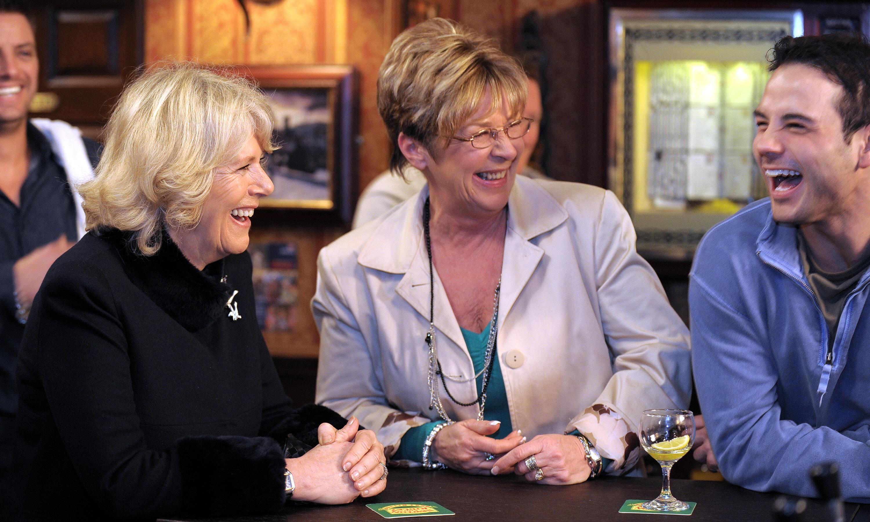 Kirkbride on set in 2010. (Getty)